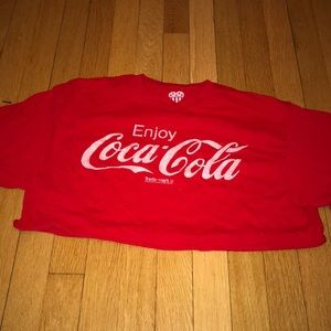 Coco cola crop top